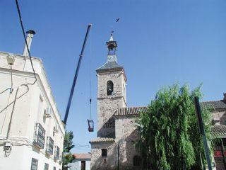 La iglesia de Carrión cuenta con nuevas campanas