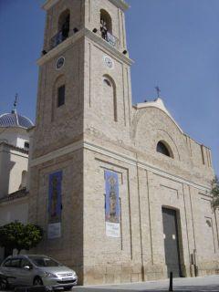 La torre de la parroquia - AUTOR: PARROQUIA SAN JUAN BAUTISTA DE ARCHENA