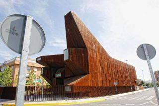 La parroquia de Santa Mónica en Rivas fue premiada como el mejor diseño de iglesia de 2008 por la prestigiosa revista Wallpaper. - AUTOR: ÁLVAREZ, Claudio