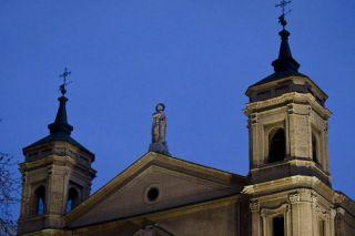 Las campanas de Santa Engracia repicaron nada más conocer el nombre del nuevo Pontífice - Autor: DUCH, Oliver