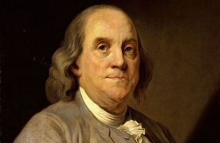 Portrait of Benjamin Franklin by Joseph Siffred Duplessis (Wikimedia Commons)