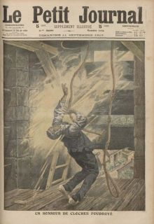 Sept. 11, 1910 issue of Le Petit Journal (via YouScribe.com) - Autor: