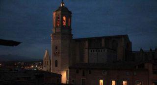 La Catedral, ahir a la nit des l'Hotel Històric - Autor: SABATER, J.