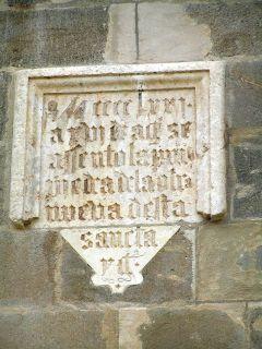 Francesc Llop, en la Catedral de Jaén