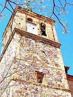 La torre de Santa Ana y el reloj