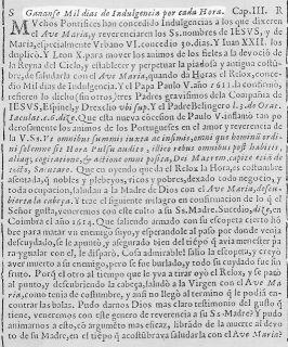 Relox Divino del Ave María - Zaragoza (1631)